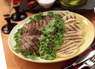 Roast beef e cipolle