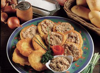 Ricetta Frittelle di patate al salmone