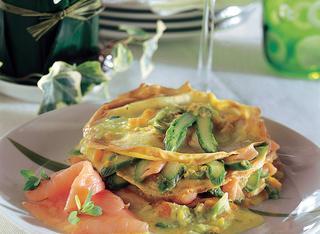 Ricetta Crepes al salmone e asparagi