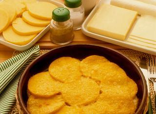 Ricetta Polenta ai formaggi