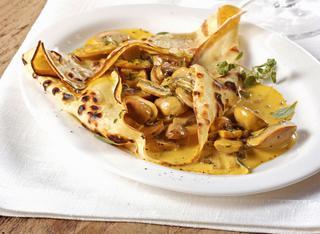 Ricetta Crepes con champignon