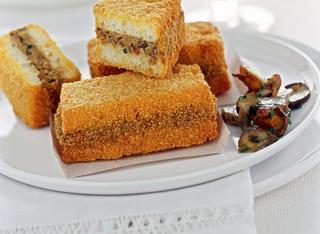 Ricetta Pane farcito e fritto