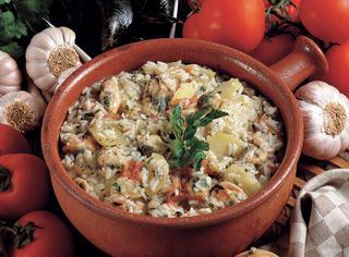 Ricetta Riso e cozze con patate
