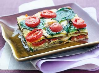 Lasagne vegetariane con robiola