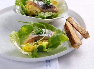 Ricetta Aringa e uova strapazzate