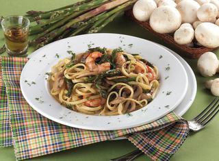 Ricetta Linguine ai gamberoni