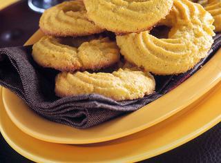 Ricetta Biscotti di meliga al limone