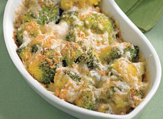 Ricetta Broccoli al forno con la provola
