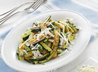 Ricetta Zucchine saltate in padella con ricotta