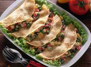 Crepes vegetariane