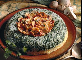 Ricetta Riso bicolore con zafferano e spinaci