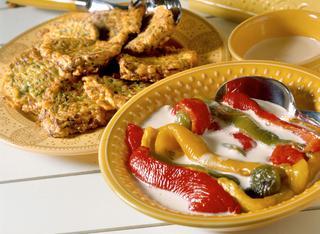 Ricetta Peperoni grigliati in salsa d'acciughe