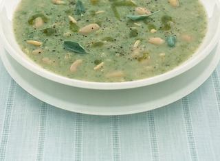 Ricetta Zuppa di fagioli cannellini alla salvia