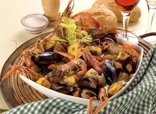 Zuppa di pesce agli aromi