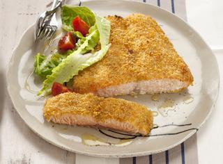 Ricetta Salmone al forno in crosta di zenzero