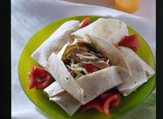 Burritos tonno e fagioli