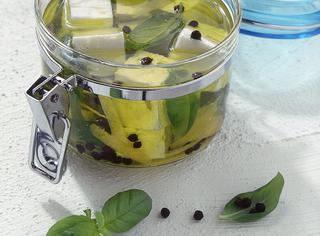 Feta aromatica sott'olio