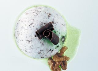 Bombe di gelato alla stracciatella