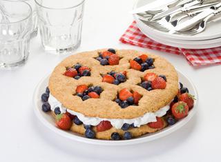 Ricetta Torta americana ai frutti di bosco