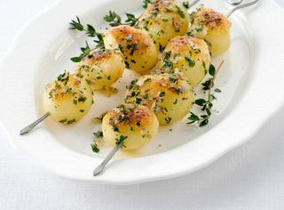 Ricetta Spiedini di patate novelle