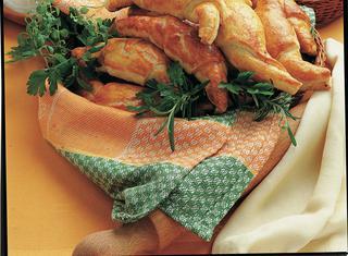 Croissant salati al cotto e ricotta