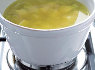 Ricetta Zuppa di patate e porri