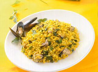 Ricetta Insalata calda di riso alle cozze