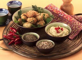 Ricetta Falafel alle fave con hummus
