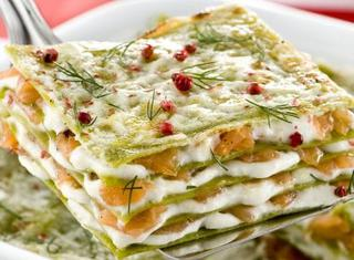 Ricetta Lasagne al salmone