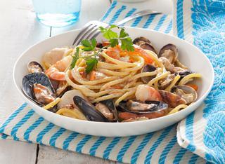 Ricetta Carbonara di mare con la ricotta