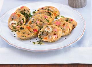 Salame matto con castagne secche