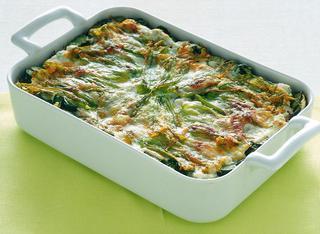 Lasagne con zucchine e fiori
