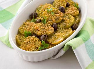 Ricetta Pomodori verdi gratinati