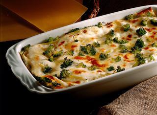 Lasagne ai broccoli e formaggi
