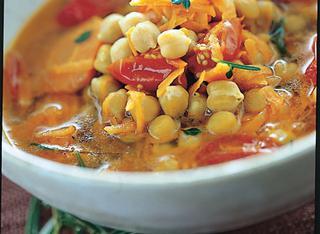 Ricetta Zuppa di ceci e carote
