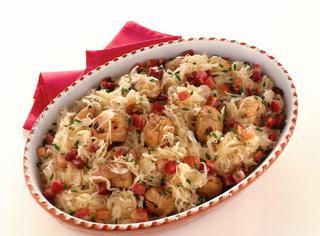 Ricetta Crauti con castagne