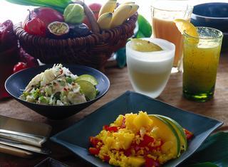 Cocktail ai frutti tropicali