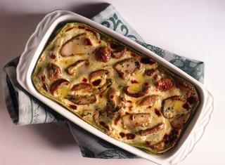Ricetta Lasagne verdi ai funghi