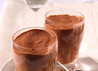 Mousse au chocolat o mousse al cioccolato
