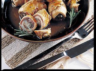 Sfiziosi involtini di pollo ai carciofi