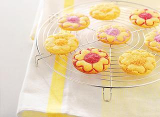 Biscottini allo zucchero colorato