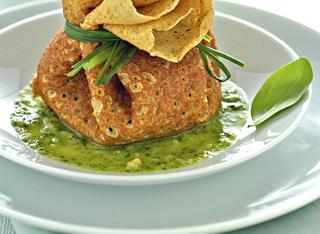 Fagottini di crepes con spinaci
