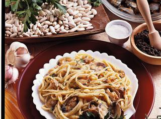 Ricetta Linguine vongole e fagioli
