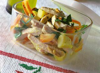 Insalata di pollo all'aceto balsamico