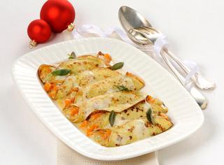Ricetta Cannelloni con zucca e gorgonzola