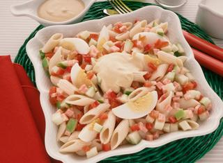 Pasta fredda in insalata