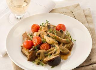 Ricetta Funghi porcini e champignon in padella
