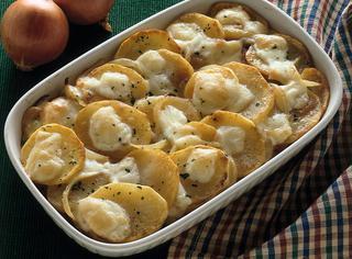 Patate gratinate al gruyère