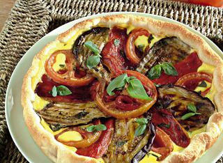 Torta di verdure estive