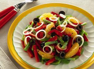Come preparare un'insalata araba